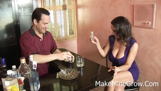 Persia Monir - large melons Brunette receive nail And Thumb