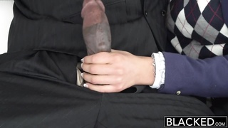 BLACKED real mannequin loves dusky knob Thumb