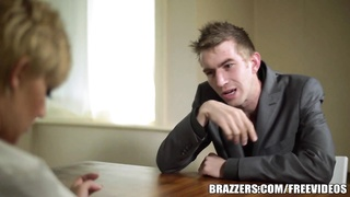 Brazzers - fantastic Cop Loulou's interrogation Thumb