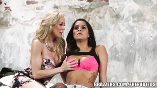 Brazzers - relieve ally 3 way with Abbey Thumb