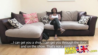 FakeAgentUK - super hot black  woman spreads legs Thumb