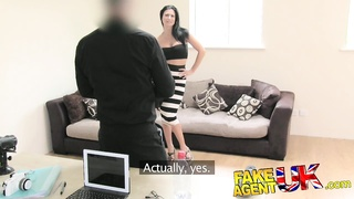 FakeAgentUK - Smoking warm babe relieve for more Thumb