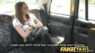 FakeTaxi - Out of work brunette gets cash Thumb