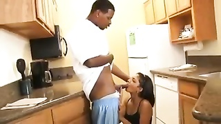 Indian chick penetrates murky Plumber! Thumb