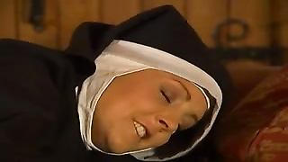 Ultra fantastic Nun Does The Holey Trinity wearisome! Thumb