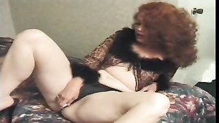 Redhead wooly Cunted old lady anal invasion Thumb