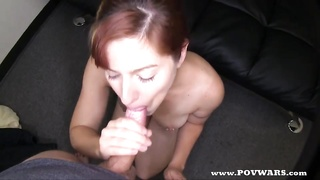 POV Wars steaming redhead gets pounded by 5 boys Thumb