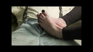 Comp footjobs Thumb