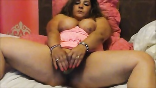 BBW on webcam with didlo Thumb