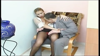 hookup in the office with Russian chick Thumb