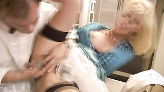 Blond housewife needs a man meat Thumb
