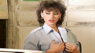 Elodie Cherie - French police damsels  fucked Thumb