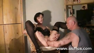 extreme housewife brutally deep fisted in her ejaculating ruined labia Thumb