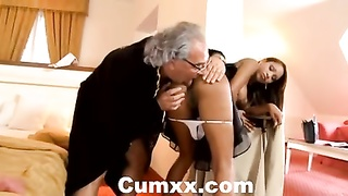 black  Katia de lys banged hard by old stud Thumb