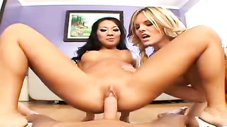 Asa Akira and Mackenzee Pierce threesome Thumb