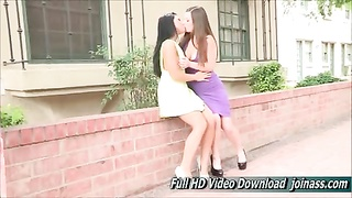 Natalie And Arianna stunner FTV with big hooters Thumb