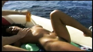 steamy Indian chick in Boat-Christina/Dai lany/Dailany Thumb