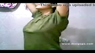 indian college honey  tanya in self shot homemade shower video with bigtits Thumb