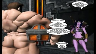 3D Comic: World of Neverquest. scene 9 Thumb