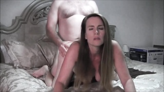 Pregnant BBW gets fucked on webcam Thumb