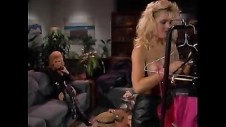 Lauryl canyon leather skirt nina hartley Thumb