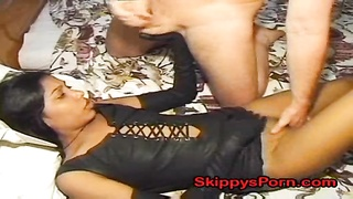 cute Indian hooker gets jizz shot Thumb