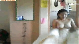 Reysan Lacson after shower taunt ! Thumb