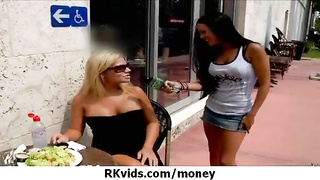 inexperienced doll Takes Money For A penetrate 13 Thumb
