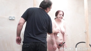 weird elephantine slave punishment and homemade contraptions bdsm Thumb