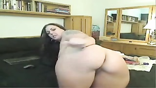 Western Webcam Wench shows her super hot Britannic anus Thumb