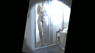 From the vault 4: sexy sis in law shower hidden cam Thumb