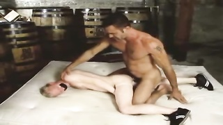 horse sausage daddy tears up blond twink bf Thumb
