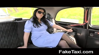 FakeTaxi - horny nurse loves a large shaft Thumb