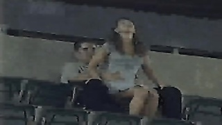 Amateurs having sex in stadium Thumb