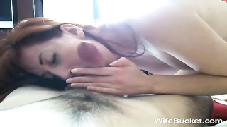 spectacular wife giving a good oral pleasure Thumb