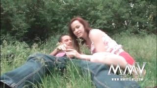 MMV Films German teenage  poked  hard outdoor Thumb
