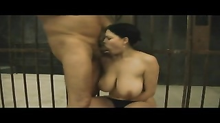 one Hour for Prisoner with busty Hooker BVR Thumb