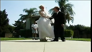 Shorthaired Redhead Bride Lives For cock Thumb