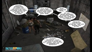 3D Comic: Nanta Project. gig  2 Thumb