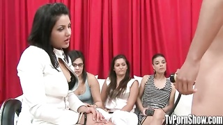 knob Obsessed girls observe dudes use cock Pumps - TvPornShowcom. Thumb