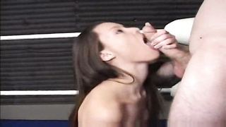 harsh Initiation : Jessi getting screwed xxx in a wrestling ring Thumb