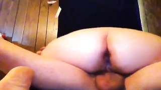 BBW deepthroat and toddle a sweet manhood Thumb