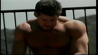 blonde damsel with big tits gets ravaged hard doggy style by muscle boy Thumb
