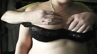 massaging her large melons and puffies  1 Thumb