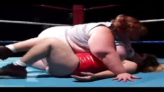 bbw wrestling with a midge Thumb