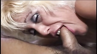 scorching traditional blondie old Cara Thumb