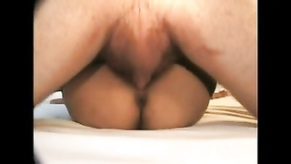 MIDGET sex 4 wooly brunette in gangbang Thumb