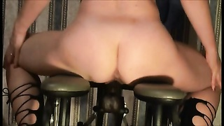 super hot wifey  with ravaging machine BBC Thumb