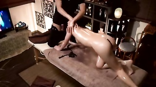 well wild japan chick ravage during oily rubdown Thumb