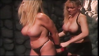 stagger slave teased by her mistress Thumb